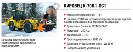 Кировец К-708.1-ОС1